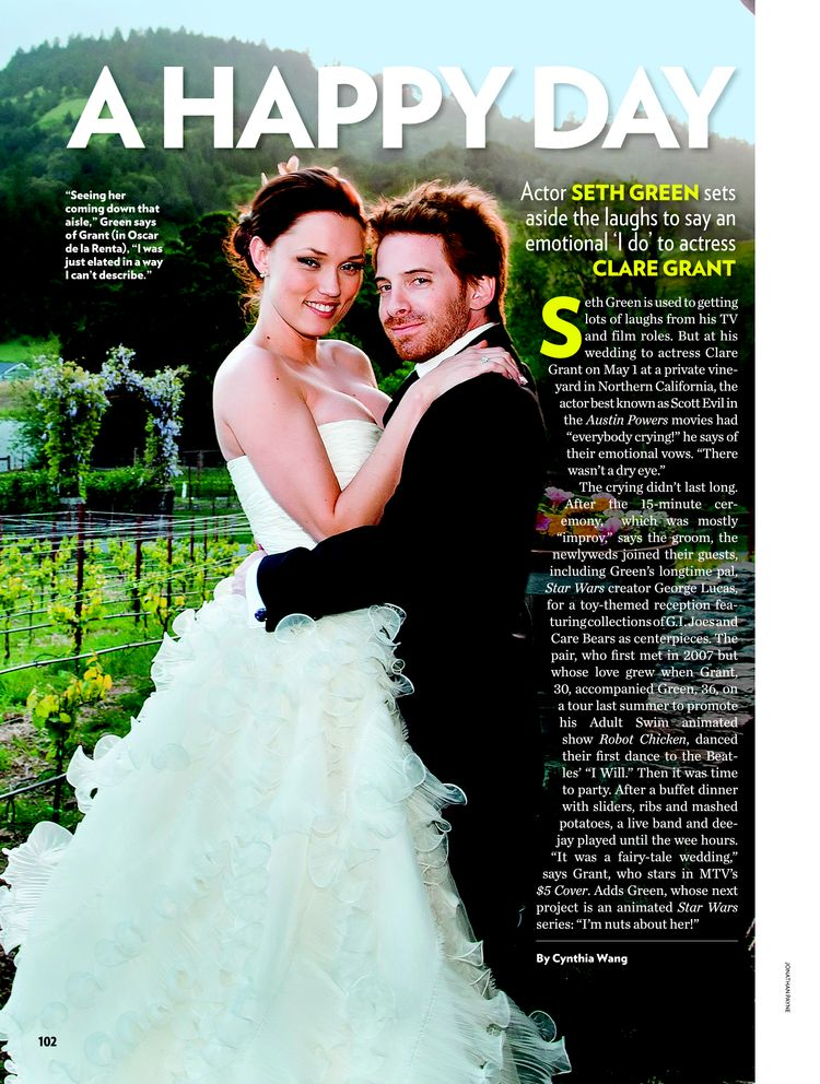 Clare grant wedding