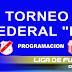 FEDERAL B: PROGRAMACION DE LOS EQUIPOS CONCORDIENSES