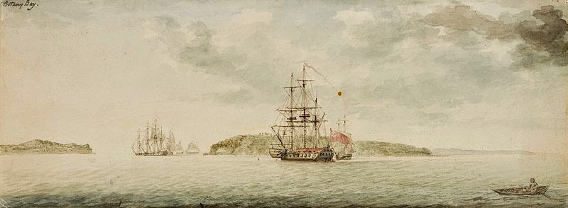 Botany Bay by Charles Gore, 1789