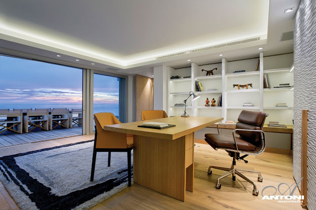 Picture of modern home office