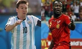Argentina vs Bélgica en Vivo, Mundial Brasil 2014 Online