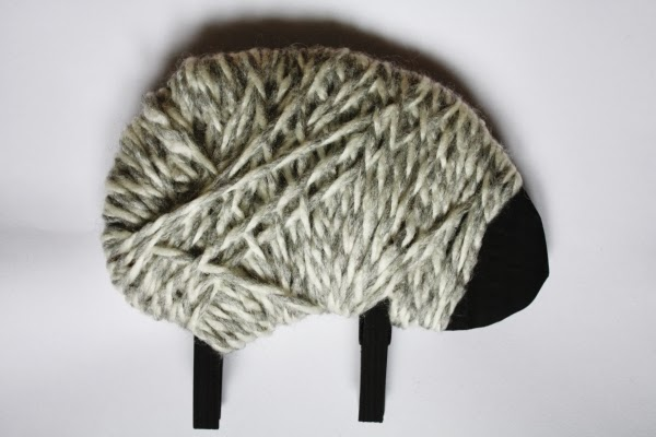 how to make sheep ears and tail