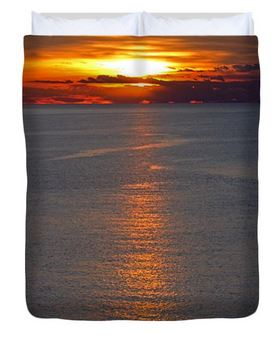 Buy Duvet Cover of Adriatic Sunset