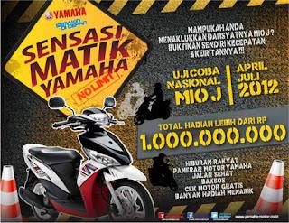 sensasi matic yamaha2 Motor matic injeksi irit harga murah – Yamaha Mio J