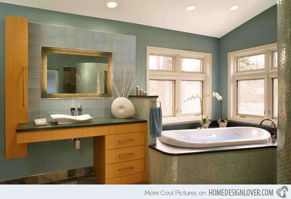 Cool And Elegant Turquoise Bathroom Design Ideas Pictures