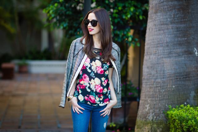 feminine casual outfit via M Loves M @marmar
