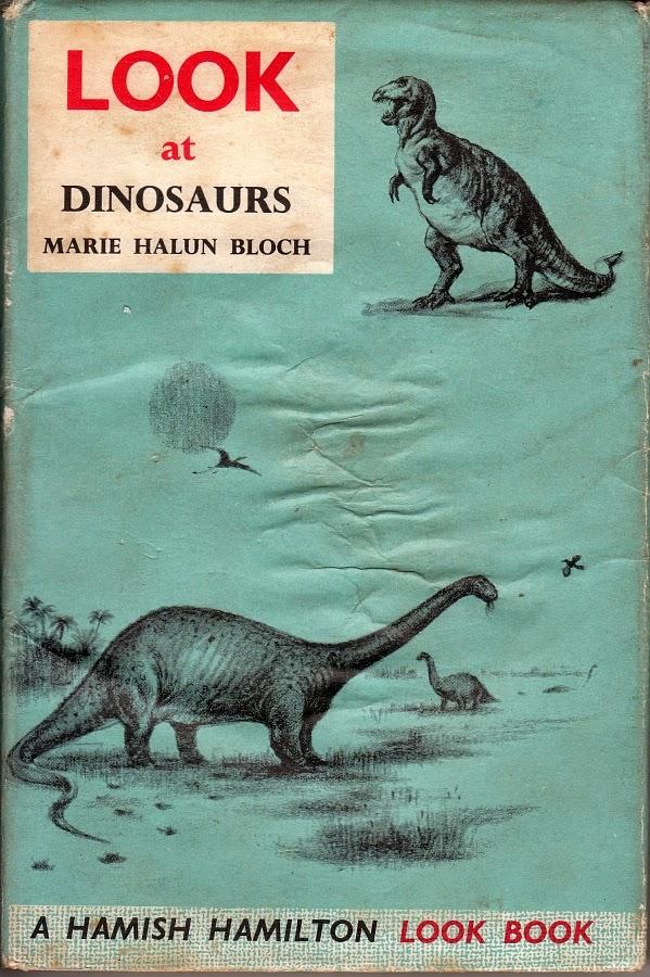 Vintage Dinosaur Art: LOOK at Dinosaurs