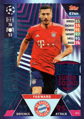 Topps Match Attax Ligue des Champions Road to Madrid 19 CARTE Nº 135 MOHAMED SALAH
