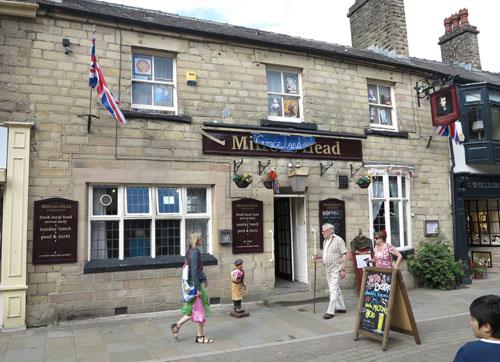 Milton's Head Buxton, Derbyshire