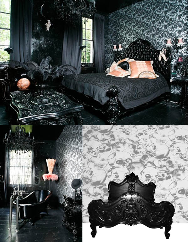 gothic bedroom designs on To See The Cathedral Influence In Some Of These Fun Neo Gothic Trays