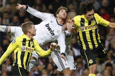 Real madrid VS Dortmund 2-0 highlights