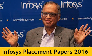 Infosys Placement Papers 2016