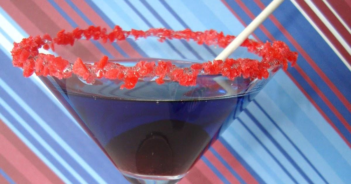 Patriotic Pop-Rock Rimmed Blowpop Drinks {Kid-friendly} ~ Dip it in ...