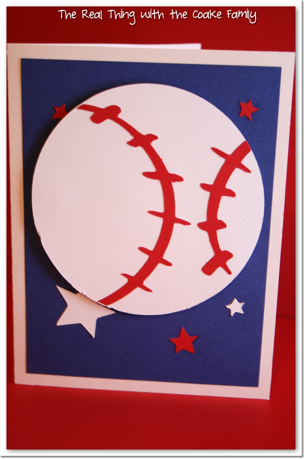Take Me Out to the Ball Game Baseball Birthday Card The Real
