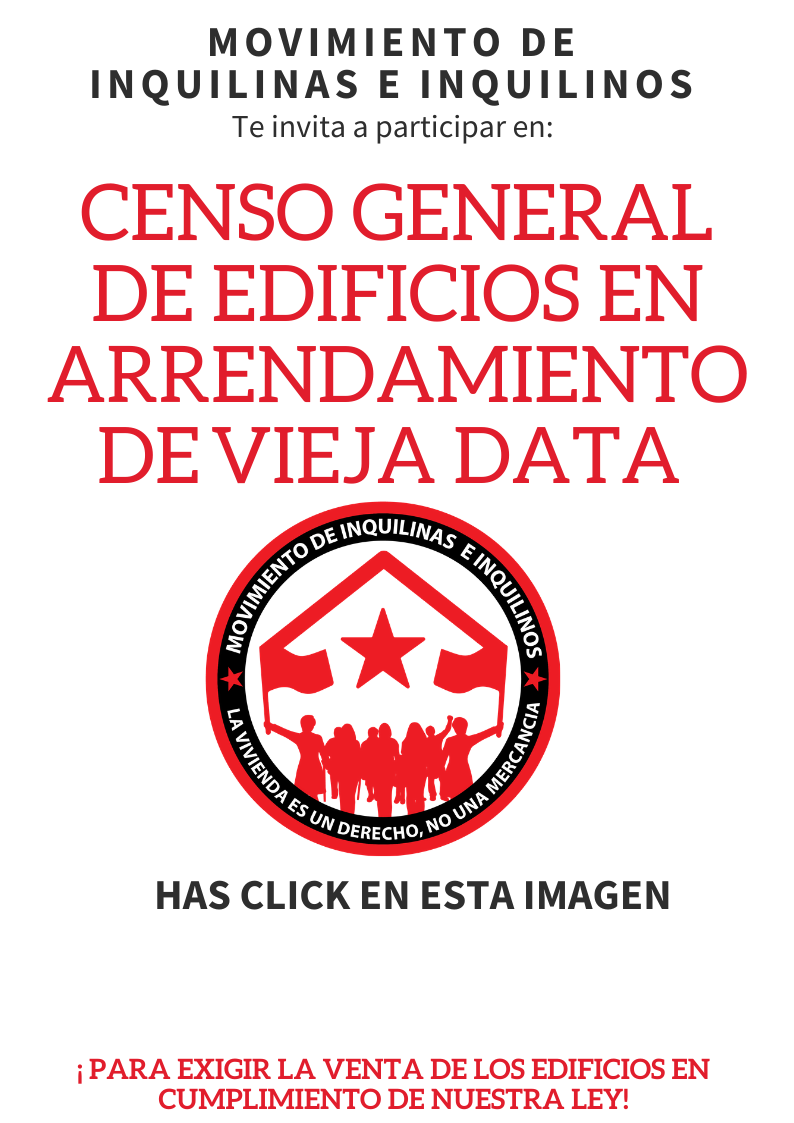 CENSO GENERAL DE EDIFICIOS DE VIEJA DATA
