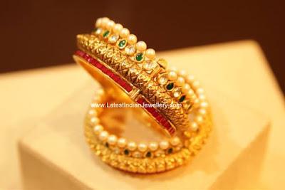 manubhai fine gold bangles