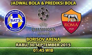 BATE Borisov vs Roma