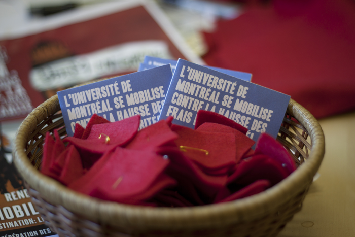 L'Universit de Montral se mobilise contre la hausse des frais de scolarit
