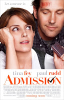 Admission Tina Fey Paul Rudd Poster
