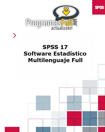 SPSS 1.7 Multilenguaje (ESPAÑOL) [MU][MF] SPSS17StatisticalSoftware-1