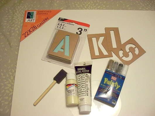 All Of These Items Can Be Purchased At Art/craft Supply Stores.