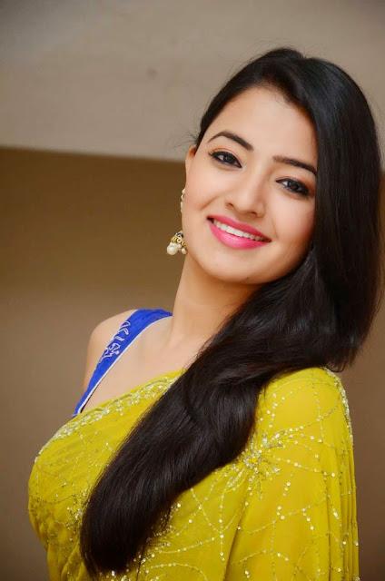 Ruksha Tamil Actress in Beautiful Designer saree and Sleeveless Blue Choli Spicy Pics