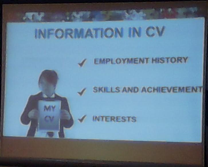 Informasi yang penting dalam CV - 2