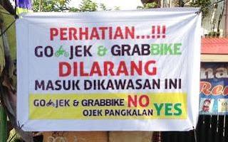 Ojek Pangkalan di Bandung Dibekali Aplikasi Akod
