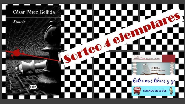 Sorteo conjunto Konets de César Pérez Gellida