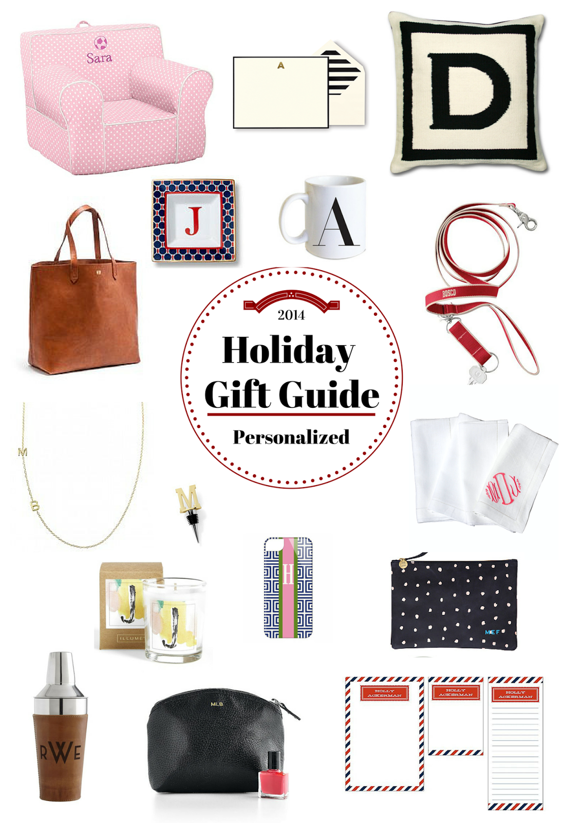 Holiday Gift Guide Personalized
