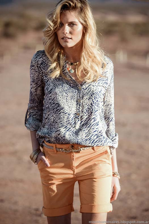 Moda primavera verano 2015. Markova primavera verano 2015. Blusas y camisa de moda.