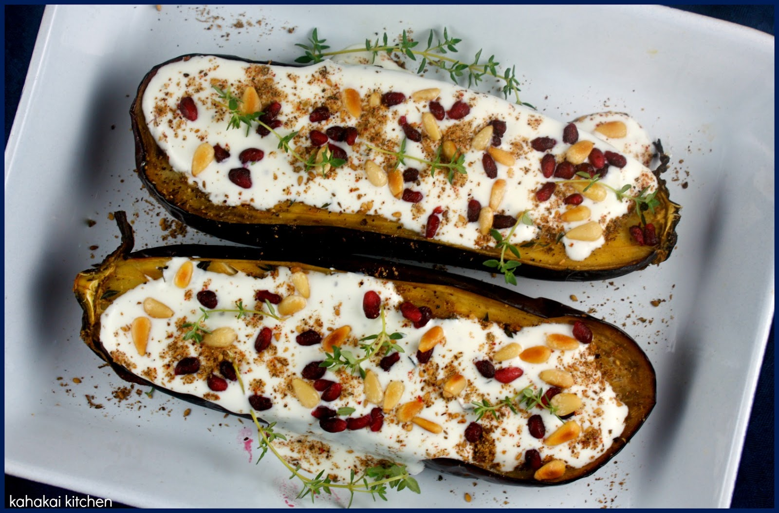 Pan-Fried White Eggplant With Onion, Caper, And Herb Sauce Recipe ...
