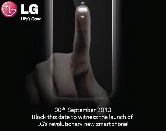 LG G2 India launch Invite