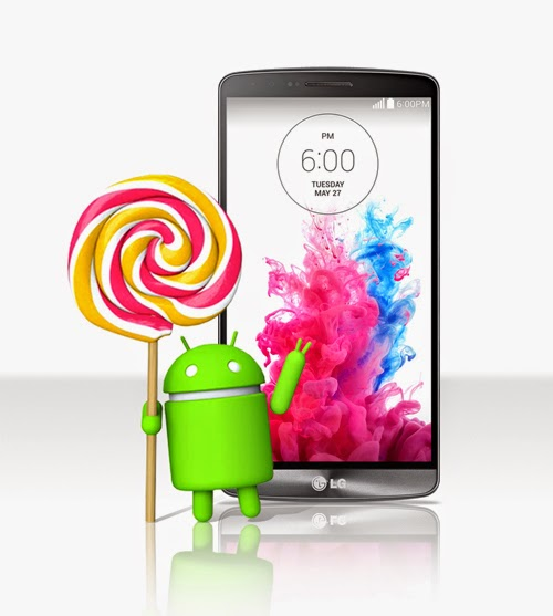 LG G3 will get the Lollipop update this coming week