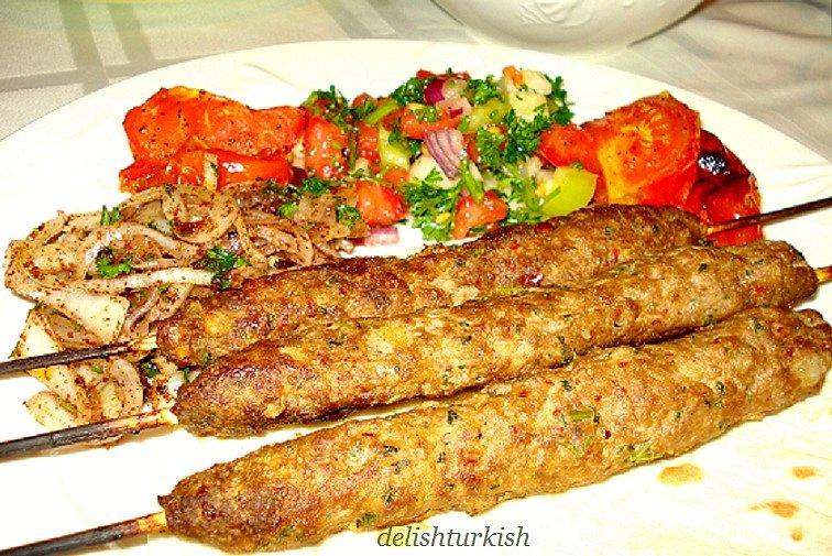 Adana Kebab Adana Kebabi Delicious Turkish Food Recipes