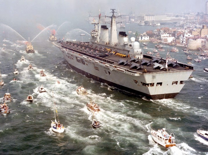 Warship: Invincible class aircraft carrier, Britain Royal Navy
