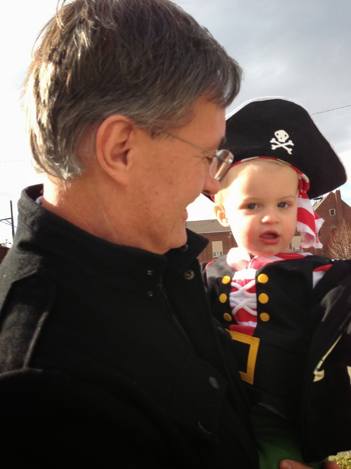 Grandpa and Pirate Sam