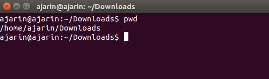 Perintah dasar linux - pwd