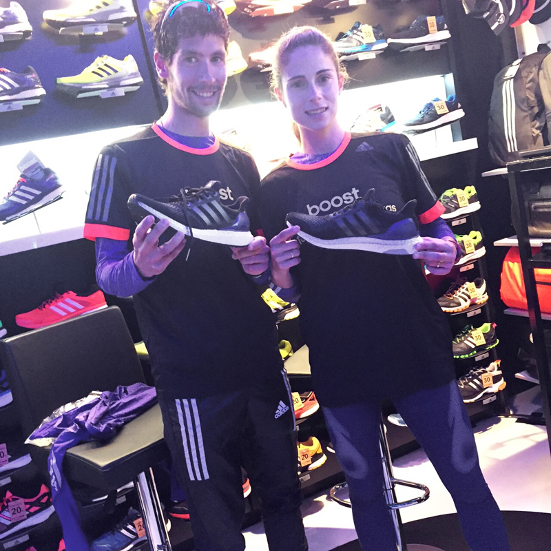 Adidas Ultra Boost Presentación y Prueba InterSport Piñeiro