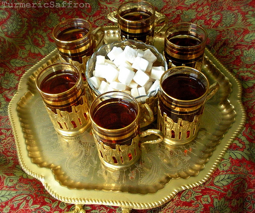 Black Coffee With Turmeric