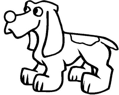 Pattern Coloring Pages Dog