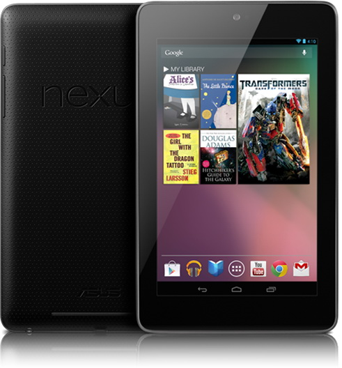 Nexus 7 Jelly Bean