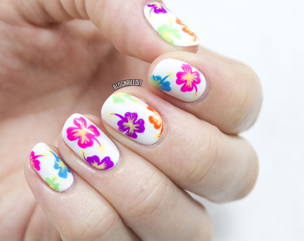 How To Make Hibiscus Flower Nail Art The Best Flowers Ideas How To Make  Hibiscus Flower