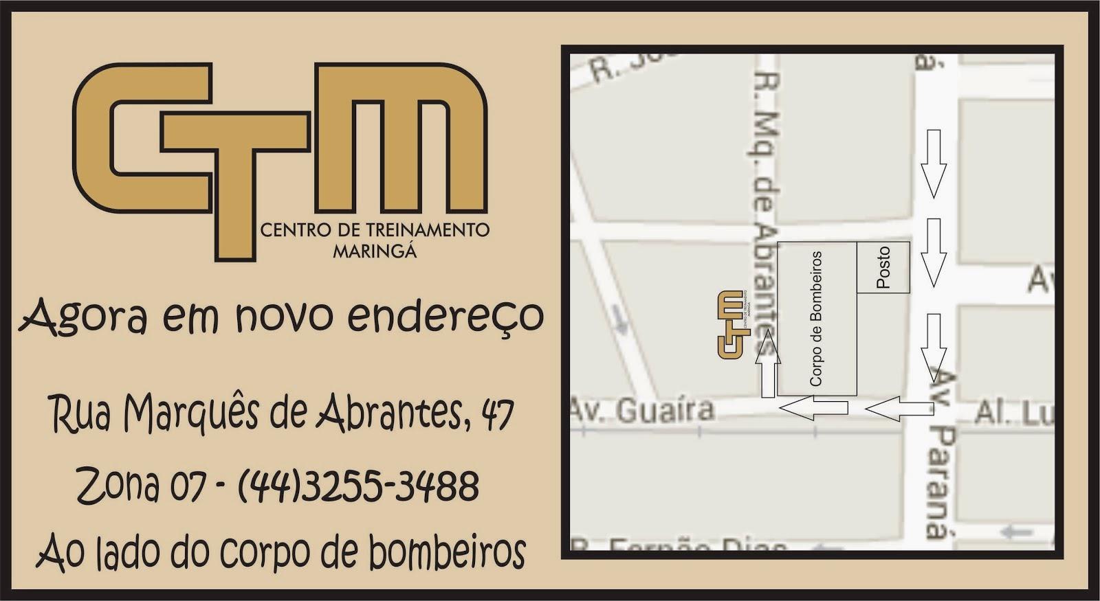 CTM em novo endereço