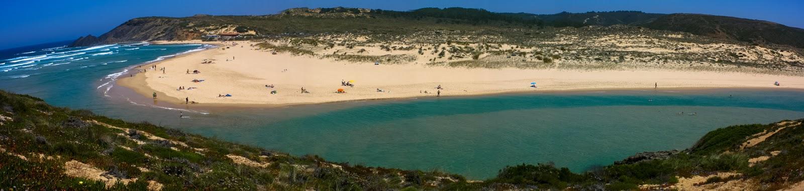 """alt=""""Amoreira, beach, praia, costa vicentina"""""""