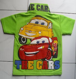 Kaos Krah the Cars belakang