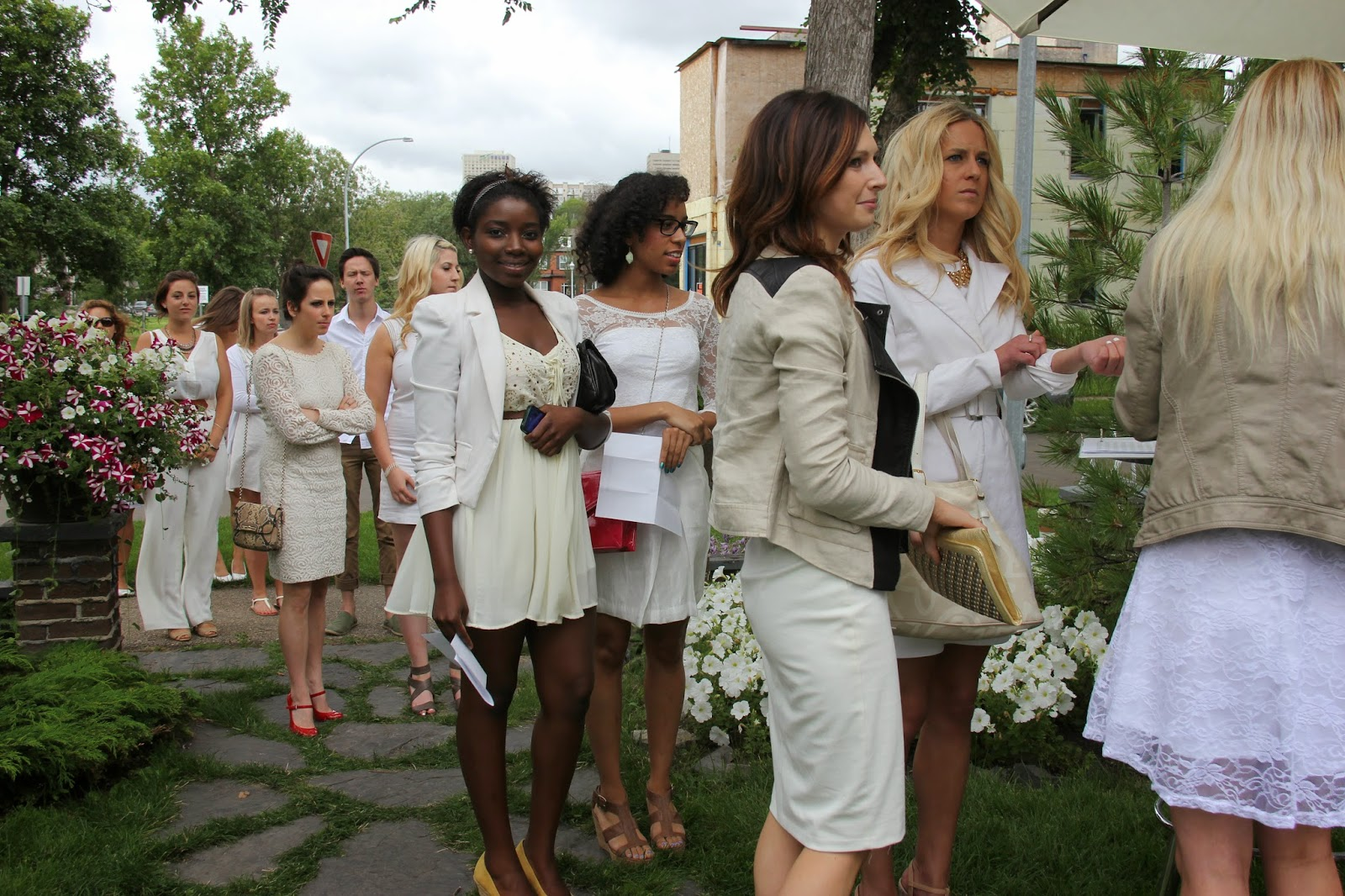 Garden Party With Live Jazz Music While Guests Sip Champagne In All White Attire Have A Look At Few Pictures Below From Last Years