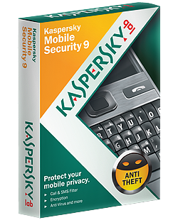Kaspersky Mobile Security 9 License Key, Activation Code, Full Version, Free Download