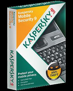 Kaspersky Mobile Security 9 License Key, Activation Code, Full Version, Free Download