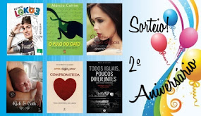 SORTEIO DE ANIVERSÁRIO BLOG LIVROS, LÁPIS E AFINS